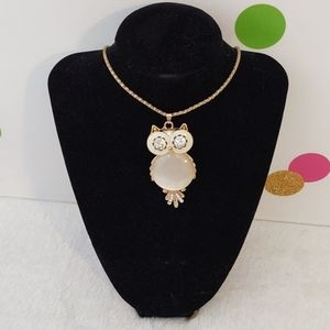 Charming Charlie Owl Necklace